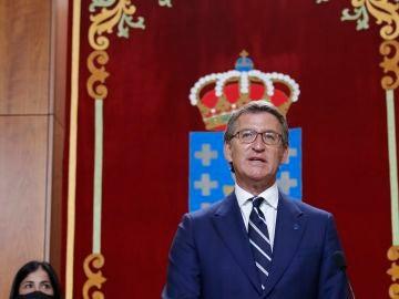 Alberto Núñez Feijóo toma posesión como presidente de la Xunta