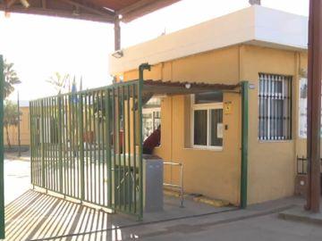 Imagen de acceso al CETI de Melilla