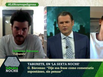 Entrevista al grupo Taburete en laSexta Noche