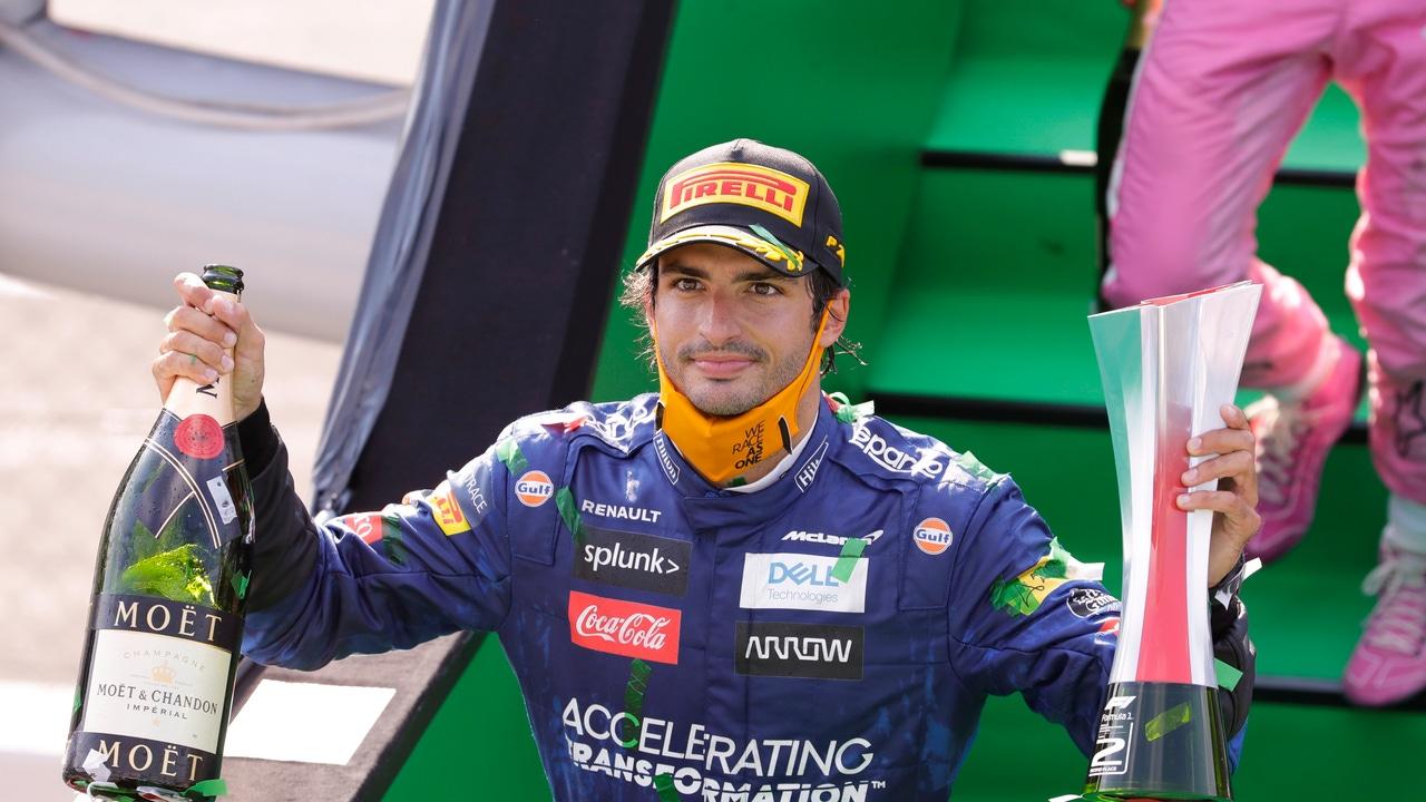 Carlos Sainz, tras su segundo puesto en Monza