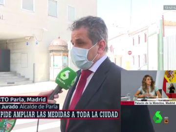 """El alcalde de Parla pide a Ayuso ampliar las medidas a toda la ciudad: """"No ha contado con los municipios"""""""