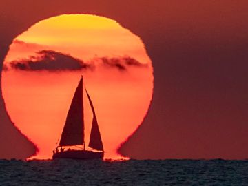 Así se tomó la espectacular imagen del Sol de Valencia que ha cautivado a la NASA