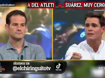 """Edu Aguirre, contundente: """"Señalan a Luis Suárez por no señalar a los Piqué, Busquets, Jordi Alba..."""""""