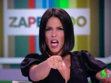Lorena Castell se marca un Lola Flores en pleno directo de Zapeando: asó clava su imitación de La Faraona