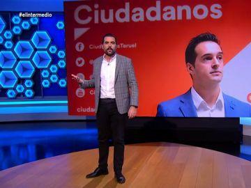 Dani Mateo explica la propuesta contra la okupación ilegal de viviendas que ha hecho un concejal de Ciudadanos en Teruel