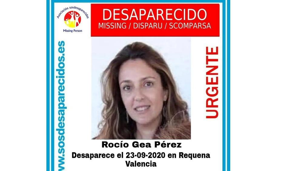 Imagen de la desaparecida Rocío Gea Pérez
