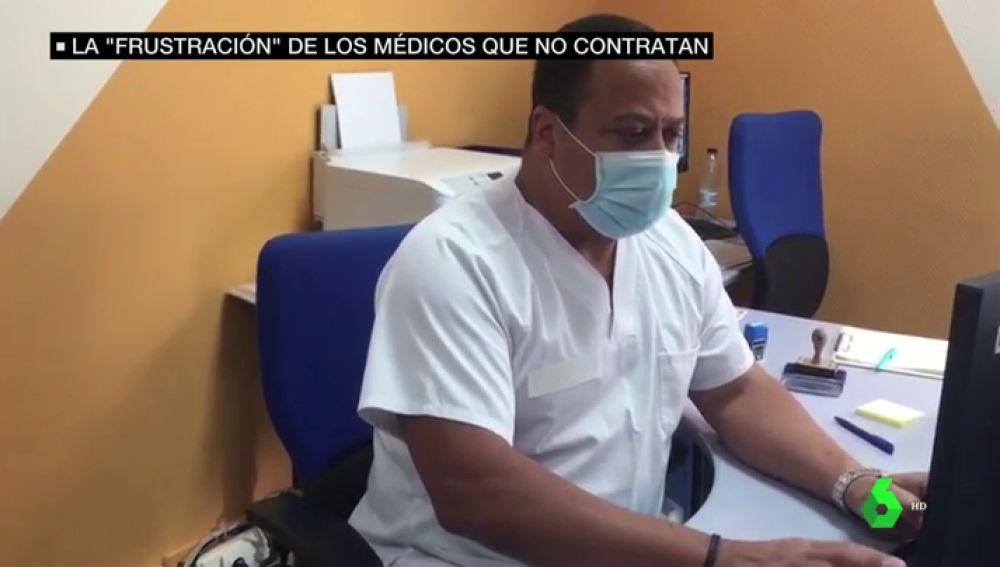 Médicos extracomunitarios denuncian su situación en España: trabajaron durante la pandemia y luego les despidieron