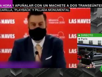 """El concejal de Valencia que hizo 'playback' hablando en inglés pide perdón y la oposición habla de """"bochorno internacional"""""""