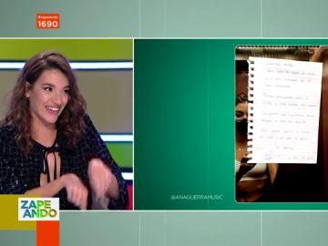"""Ana Guerra se disculpa con sus vecinos con 'pullita' incluida: """"Si dijera lo que oigo yo..."""""""