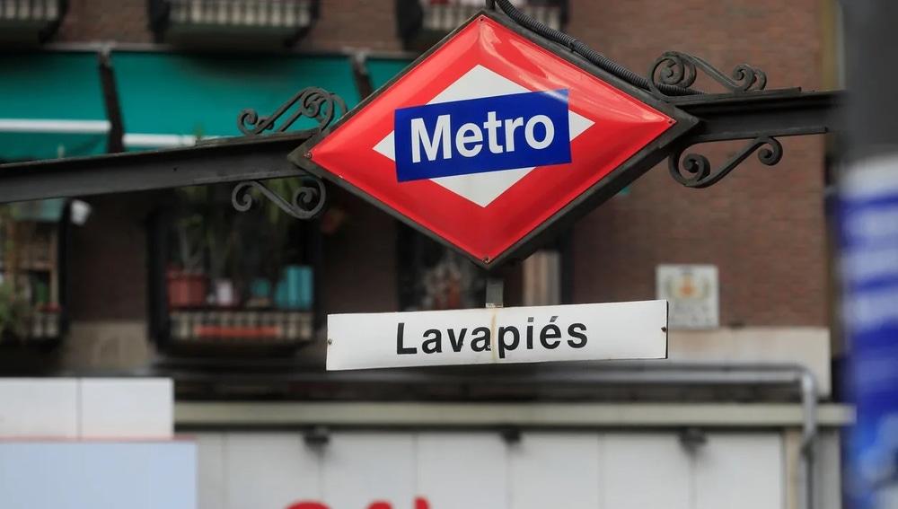 Imagen del Metro de Lavapiés