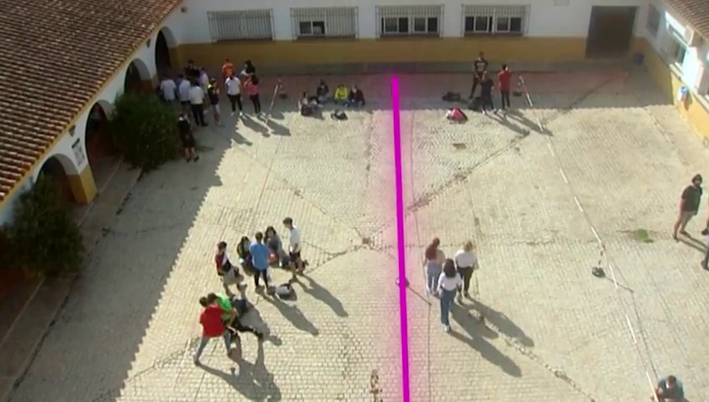 Así se ha transformado un instituto de Jerez para combatir al coronavirus en el nuevo curso académico