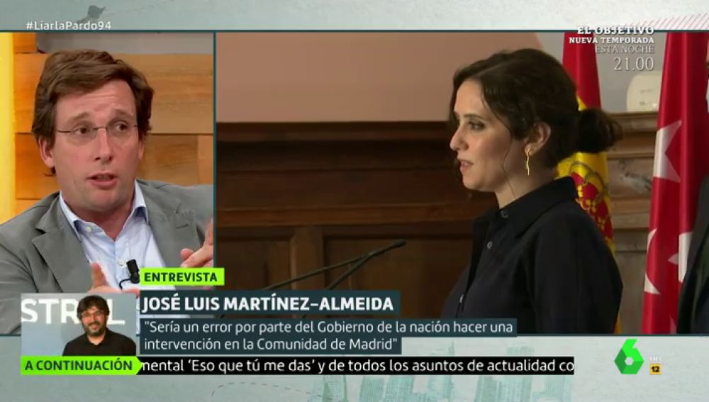 José Luis Martínez-Almeida, alcalde de Madrid, en Liarla Pardo.