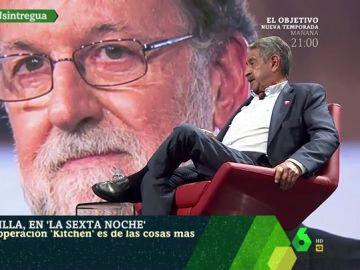 """Revilla, confiado de que Rajoy conocía la Operación Kitchen: """"La cúpula del PP recibía cada mes una cantidad de dinero negro"""""""