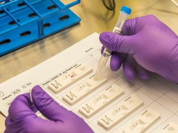 Los test de antígenos