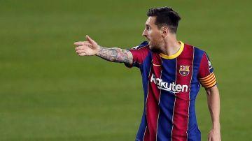 Lionel Messi, en el Barça