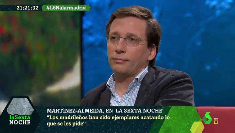 """Almeida acusa a Sánchez de imponer """"un 155 sanitario"""": """"Dio tres opciones: hacer lo que digo; hacer lo que digo y hacer lo que digo"""""""