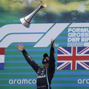Lewis Hamilton en el GP Eifel