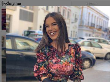 La cantante María Isabel en una imagen compartida en sus redes sociales.
