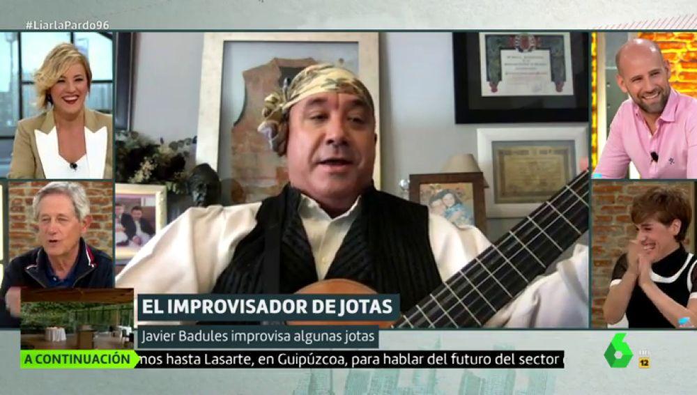 Javier Badules en Liarla Pardo