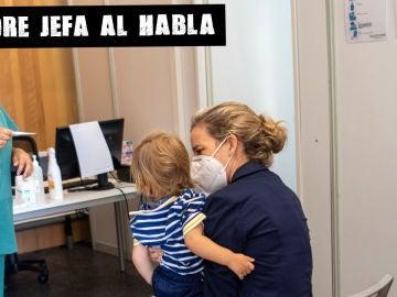 """Un niño es atendido en la unidad """"Kid Covid"""" en Palma de Mallorca"""