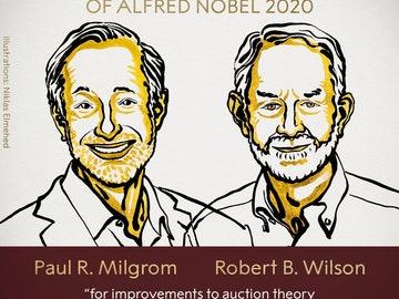 Paul R. Milgrom y Robert B. Wilson