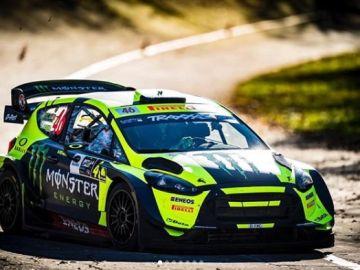 Valentino Rossi, en el Monza Rally Show 2018