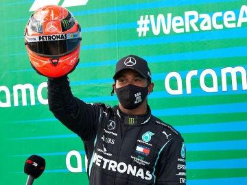 Lewis Hamilton, en el GP de Eifel
