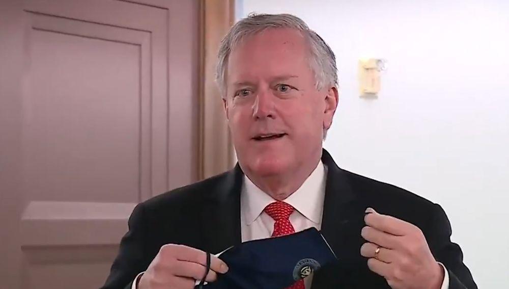 El jefe de Gabinete de la Casa Blanca, Mark Meadows.