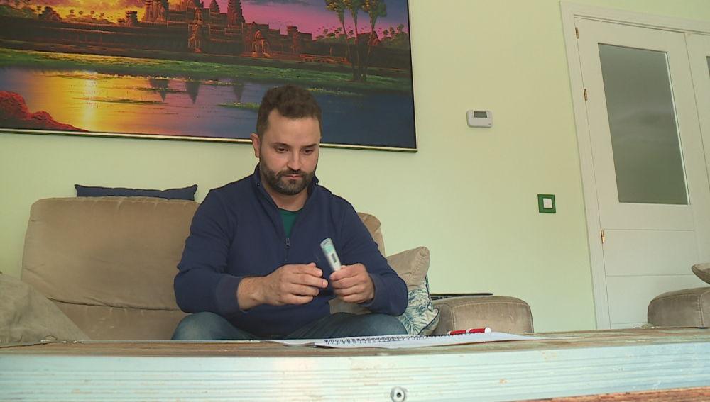 Diego Bellido, voluntario de la vacuna de Johnson & Johnson