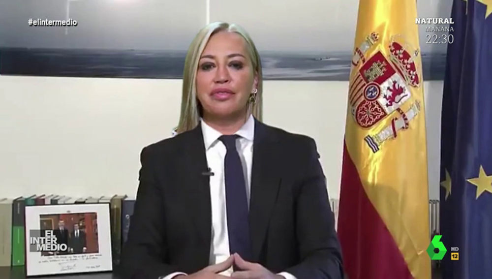 """Vídeos manipulados - El vídeo de Pablo Casado y Belén Esteban apoyando a Felipe VI: """"¡Viva el rey!"""""""
