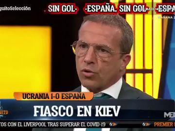 """Cristóbal Soria, tras la derrota de España: """"No me identifico con esta selección"""""""