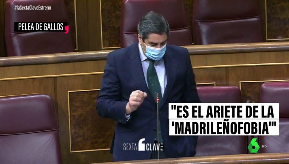 El portavoz adjunto del PP, José Ignacio Echániz