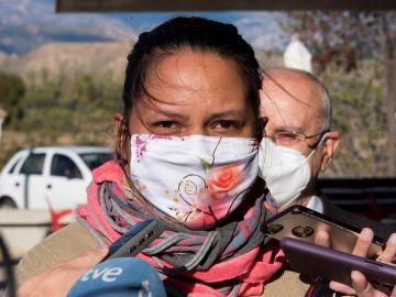 Mariela Benítez, la madre de la niña Naiara, asesinada en julio de 2017 en Sabiñánigo (Huesca) por su tío político-