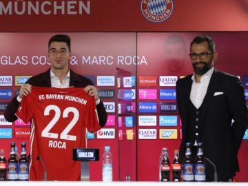 Marc Roca, presentado con el Bayern