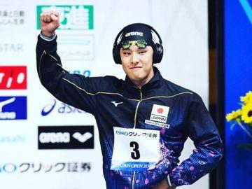 Daiya Seto, capitán del equipo olímpico de natación japonés