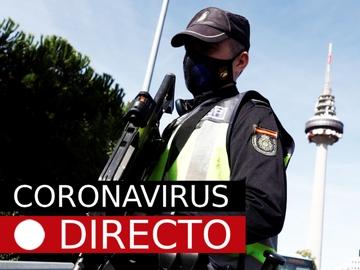 Coronavirus Madrid y España, hoy: Noticias del estado de alarma, casos y datos del COVID-19, EN DIRECTO