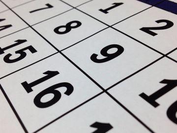 Calendario laboral 2020: próximos festivos y puentes