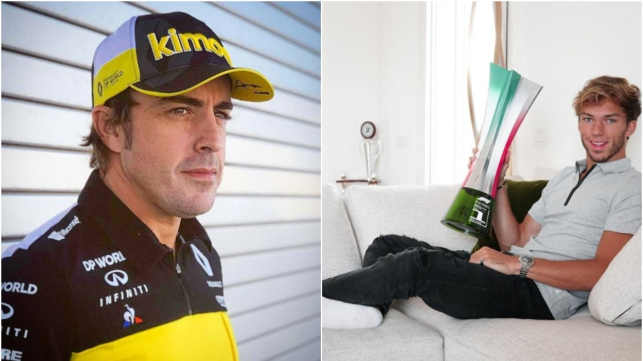 Fernando Alonso y Pierre Gasly