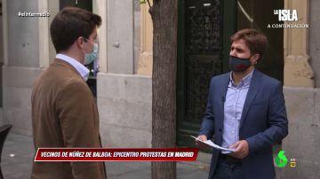 La irónica respuesta de Pablo Ibarburu a un vecino de Núñez de BalboaLa irónica respuesta de Pablo Ibarburu a un vecino de Núñez de Balboa