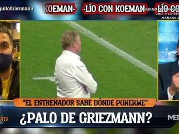 """Pedrerol: """"Yo soy Koeman y mando a Griezmann a la grada"""""""