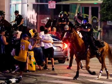 Disturbios en Los Ángeles