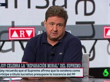 """José Luis Peñas, sorprendido ante el comunicado de Rajoy: """"Están instalados en la mentira"""""""