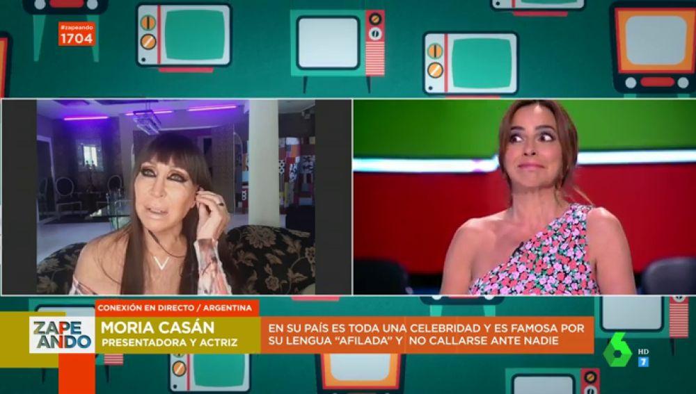 """La respuesta de Moria Casán tras ser """"sobeteada"""" por una estrella de Hollywood: """"Estoy acostumbrada al pajerismo de los hombres"""""""