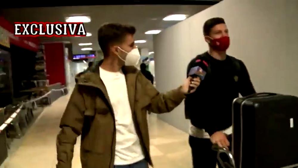 """'El Chiringuito' 'caza' en exclusiva a Luka Jovic tras las palabras de Borja Mayoral: """"¿Que si lo que dijo es cierto?"""""""