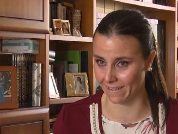 Miriam González, hermana de una joven fallecida por un tumor cerebral