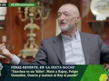 """Pérez-Reverte: """"Sánchez matará a Iglesias. Cuando le abraza busca el lugar donde le meterá la navaja"""""""