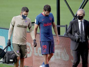 Diego Costa, lesionado
