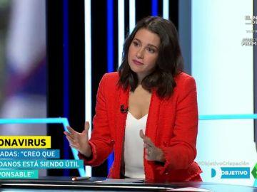 """Inés Arrimadas ofrece nuevamente a Pedro Sánchez negociar los Presupuestos: """"Con Ciudadanos van a ser mejores para España"""""""
