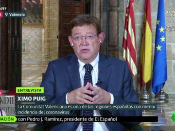 """Ximo Puig pide no politizar la lucha contra el virus: """"Evitaremos enfrentamientos estériles que no necesitan los ciudadanos"""""""