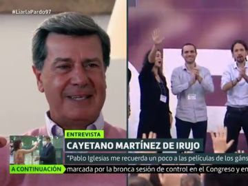 """Cayetano Martínez de Irujo desvela el mensaje que envió a Pablo Iglesias: """"El comunismo es un sistema fracasado, destruye la sociedad"""""""